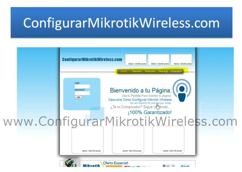 Gratis!!! | Configurar Mikrotik Wireless